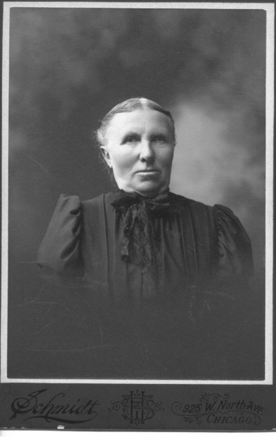 Dorothea Banger Duntemann (1843-1917) shortly before her death.
