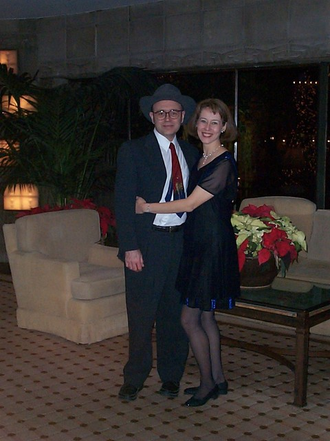 December 2000: At the company Christmas party in Scottsdale