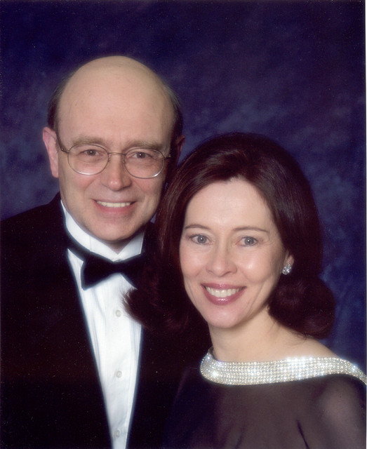 June 2007: Formal photo at another church fundraiser
