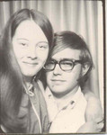 November 1970: Photo booth in downtown Chicago