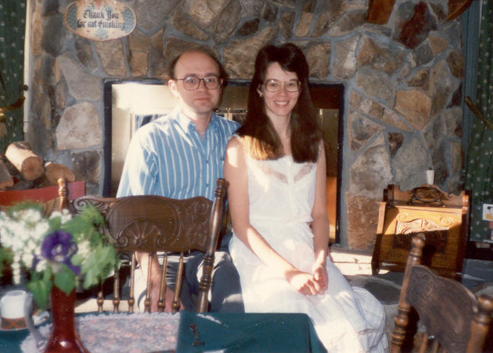 1988: At a B&B in Auburn, California