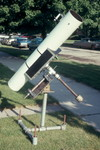 1968: When I got to Lane Tech in 1966, the astronomy club had a finished 8&quot; Newtonian tube assembly, but no mount. I designed and coordinated the building of the mount shown here.
