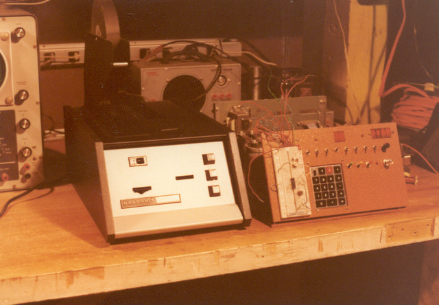 1978: I bought a Heathkit paper tape reader/punch kit, and interfaced it to the COSMAC system. The reader worked beautifully, but the punch was terrible. The hole spacing was so bad it couldn't even read its own tapes, and I sold it soon after. Punching the tapes was always a problem, as I never found an ASR 33 with a punch at a reasonable price.