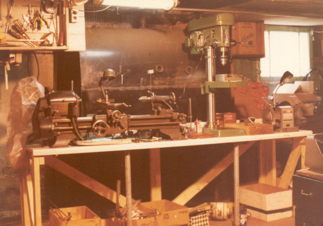1978: I did a huge amount of work on my basement shop at our first house on Campbell in Chicago, only to be transferred to Rochester NY nine months later.