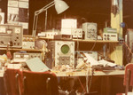 1978: My workbench and ham shack on Campbell in Chicago. A mess, as always.